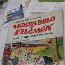 Tebeos: MORTADELO Y FILEMON. LOS GUARDAESPALDAS. 1 EDICION. 1981. Lote 196341473