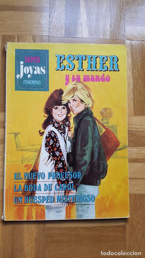 SUPER JOYAS FEMENINAS Nº 6 ESTHER Y SU MUNDO. BRUGUERA 1981 2ª ED. 125 PTS. VER FOTOS (Tebeos y Comics - Bruguera - Esther)