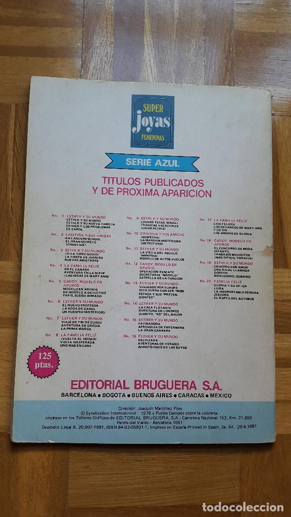 Tebeos: SUPER JOYAS FEMENINAS Nº 6 ESTHER Y SU MUNDO. BRUGUERA 1981 2ª ED. 125 PTS. ver fotos - Foto 4 - 196341541