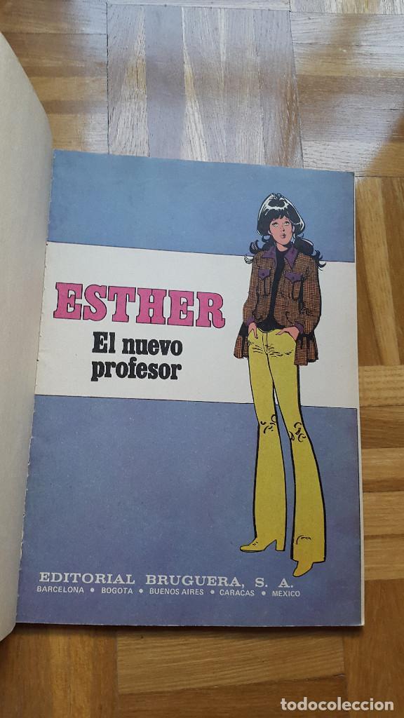 Tebeos: SUPER JOYAS FEMENINAS Nº 6 ESTHER Y SU MUNDO. BRUGUERA 1981 2ª ED. 125 PTS. ver fotos - Foto 5 - 196341541
