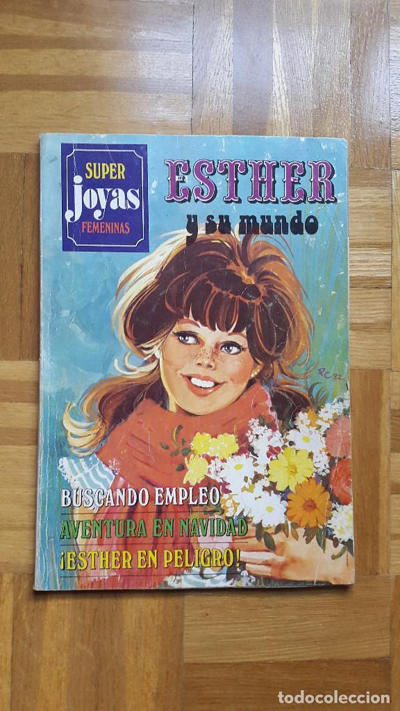 SUPER JOYAS FEMENINAS Nº 27. ESTHER Y SU MUNDO. EDITORIAL BRUGUERA 1982. VER FOTOS (Tebeos y Comics - Bruguera - Esther)