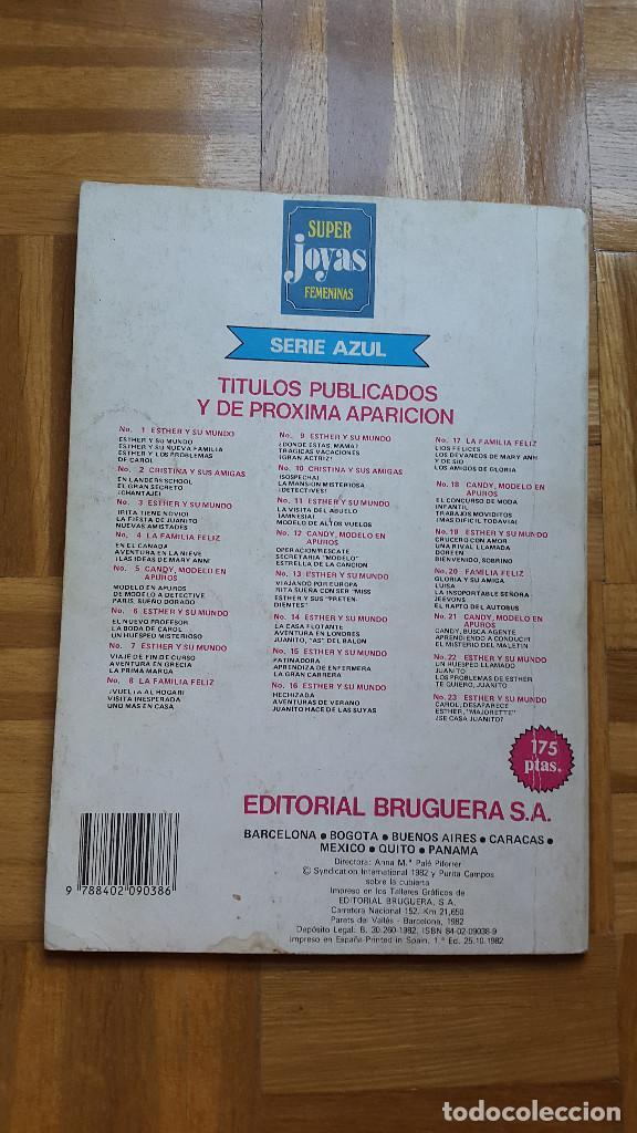 Tebeos: SUPER JOYAS FEMENINAS Nº 27. ESTHER Y SU MUNDO. EDITORIAL BRUGUERA 1982. ver fotos - Foto 4 - 196341760
