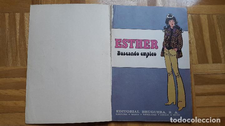 Tebeos: SUPER JOYAS FEMENINAS Nº 27. ESTHER Y SU MUNDO. EDITORIAL BRUGUERA 1982. ver fotos - Foto 5 - 196341760