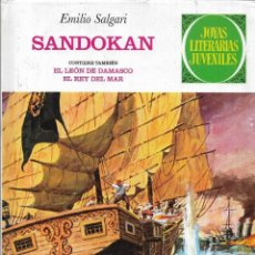 Tebeos: == AR48 - SANDOKAN - EMILIO SALGARI - JOYAS LITERARIAS JUVENILES Nº 3. Lote 196449442