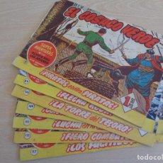 Tebeos: EL COSACO VERDE. ORIGINAL. LOTE DE 6 EJEMPLARES. EDITA BRUGUERA. VER LISTA.. Lote 196536481