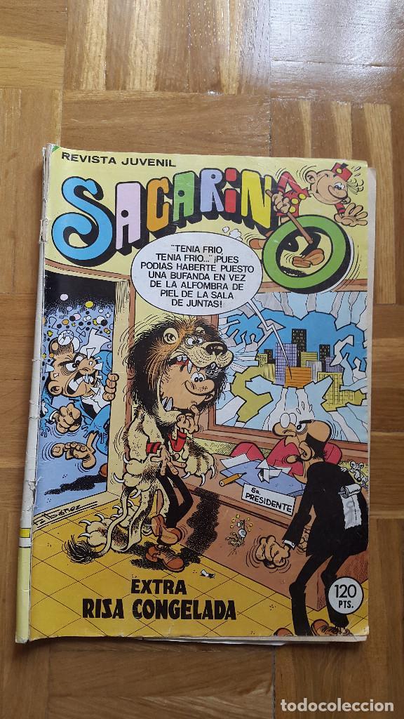 SACARINO EXTRA RISA CONGELADA Nº 45- HISTORIETAS DE: VAZQUEZ, IBAÑEZ, KEKE, BRUNO BRAZIL. VECTREX (Tebeos y Comics - Bruguera - Otros)