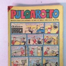 Tebeos: PULGARCITO EDT BRUGUERA 23 TEBEOS. Lote 196621566