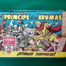 Tebeos: EL PRINCIPE DE LAS BRUMAS Nº 1 ORIGINAL EXCELENTE ESTADO VER FOTOS. Lote 196641336