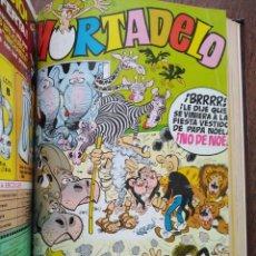 Tebeos: TOMO 12 EJEMPLARES EXTRAS DE MORTADELO Y SUPER MORTADELO. Lote 196660296