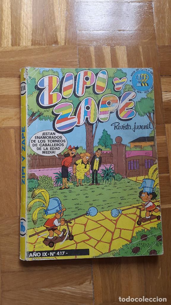 ZIPI Y ZAPE AÑO IX Nº 417. BRUGUERA. VER FOTOS ADICIONALES (Tebeos y Comics - Bruguera - Otros)