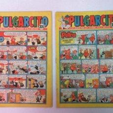Tebeos: PULGARCITO EDT. BRUGUERA 3 TEBEOS. Lote 196783990