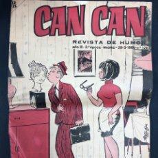 Tebeos: CAN CAN Nº 128 - AÑO III 2ª EPOCA 28-3-1966. Lote 196792705