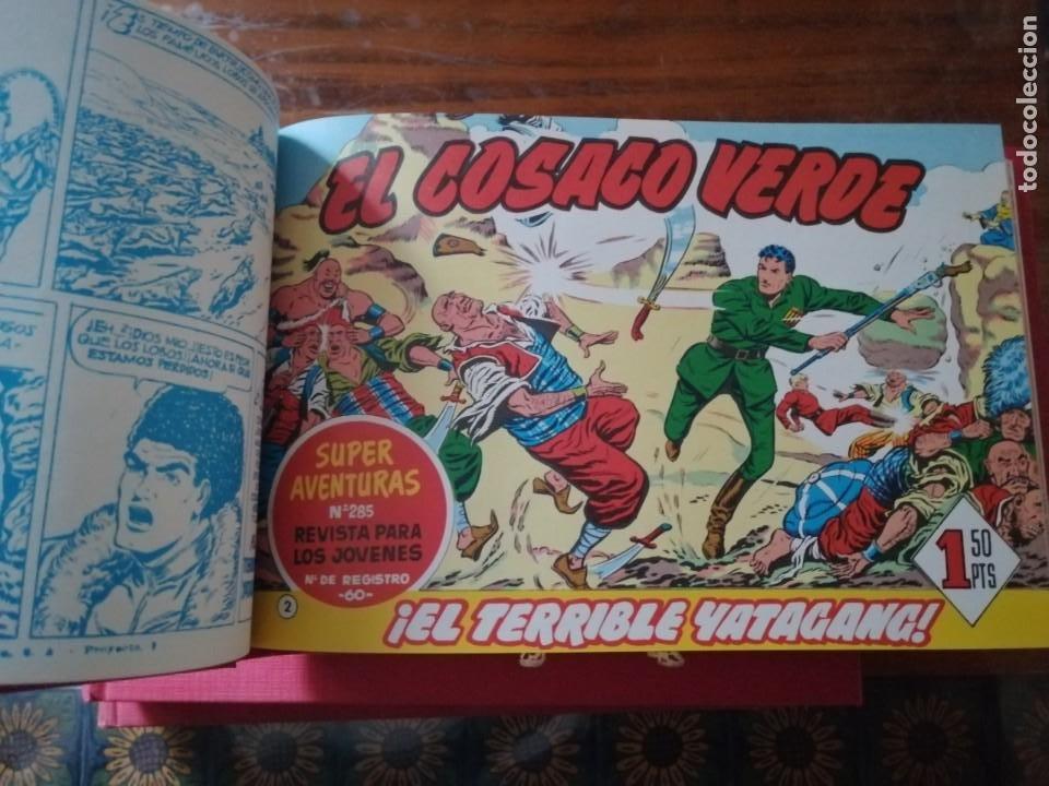 Tebeos: EL COSACO VERDE 3 TOMOS COLECCIÓN COMPLETA. - Foto 10 - 196797700