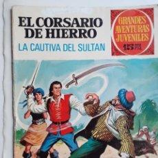 Tebeos: EL CORSARIO DE HIERRO- GRANDES AVENTURAS JUVENILES- Nº 53 -LA CAUTIVA DEL SULTÁN-1973-BUENO-LEA-4222. Lote 231745640