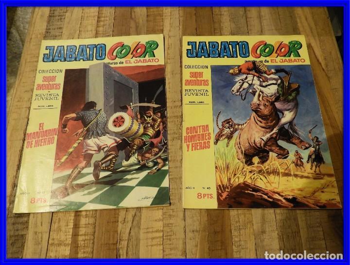 AVENTURA DEL JABATO 1970 ED. BRUGUERA DOS COMICS (Tebeos y Comics - Bruguera - Jabato)