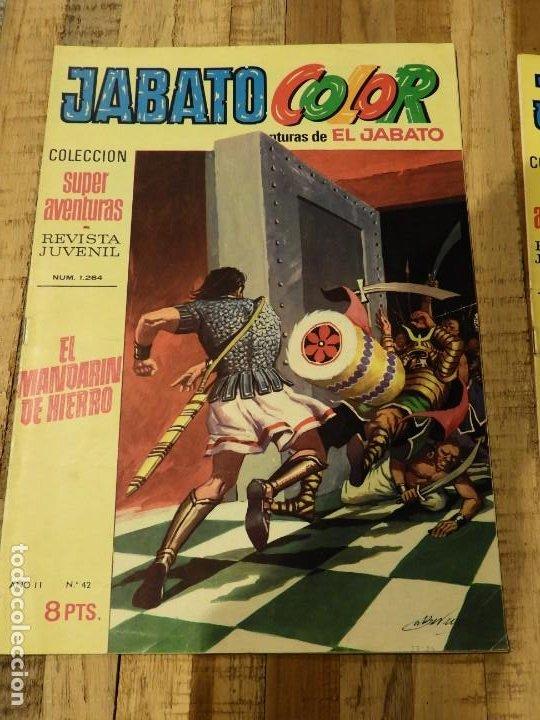 Tebeos: AVENTURA DEL JABATO 1970 ED. BRUGUERA DOS COMICS - Foto 2 - 196936186