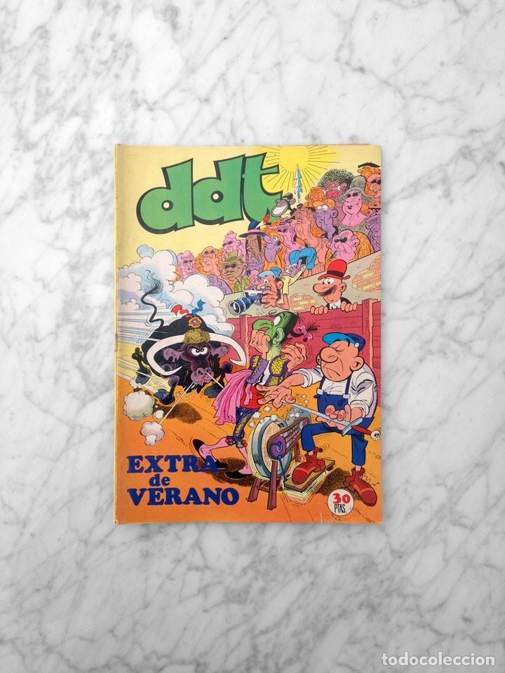 DDT - EXTRA DE VERANO - ED. BRUGUERA - 1974 (PITAGORAS SLIM) (Tebeos y Comics - Bruguera - DDT)
