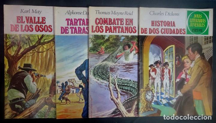LOTE DE 4 TEBEOS JOYAS LITERARIAS JUVENILES, VER FOTOS (Tebeos y Comics - Bruguera - Joyas Literarias)