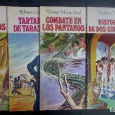 Tebeos: LOTE DE 4 TEBEOS JOYAS LITERARIAS JUVENILES, VER FOTOS. Lote 197026811