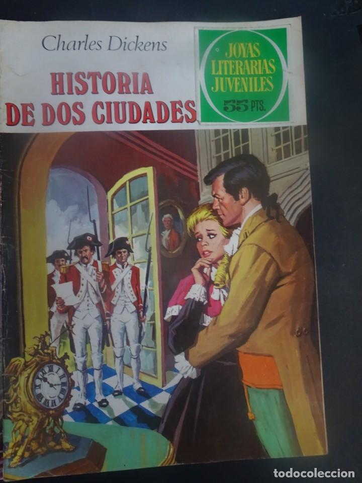 Tebeos: LOTE DE 4 TEBEOS JOYAS LITERARIAS JUVENILES, VER FOTOS - Foto 2 - 197026811