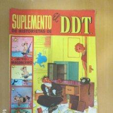 Tebeos: SUPLEMENTO DE HISTORIETAS DE EL DDT D.D.T. Nº 13 CON JABATO EN PAGINAS CENTRALES. Lote 197048903