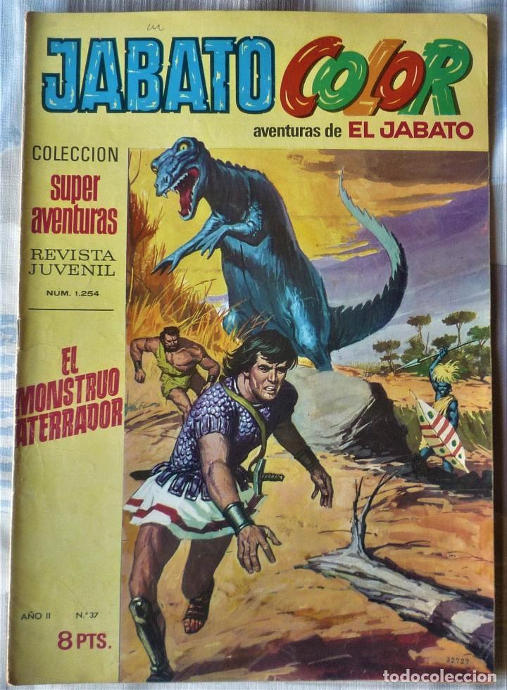 EL JABATO Nº 37 PRIMERA EPOCA (Tebeos y Comics - Bruguera - Jabato)