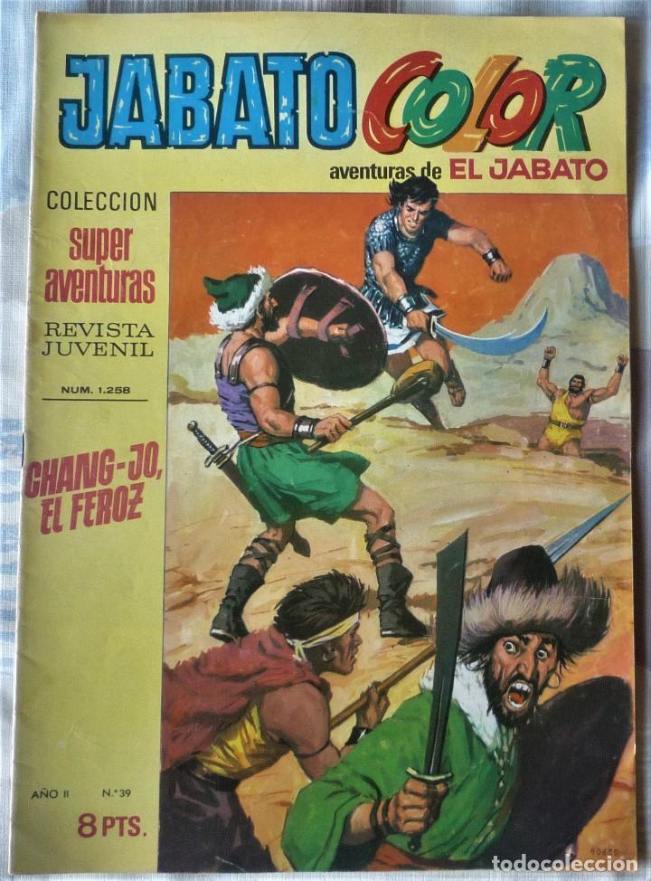 EL JABATO Nº 39 PRIMERA EPOCA. EN EXCELENTE ESTADO (Tebeos y Comics - Bruguera - Jabato)