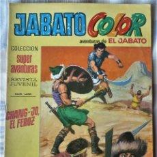 Tebeos: EL JABATO Nº 39 PRIMERA EPOCA. EN EXCELENTE ESTADO. Lote 197084578