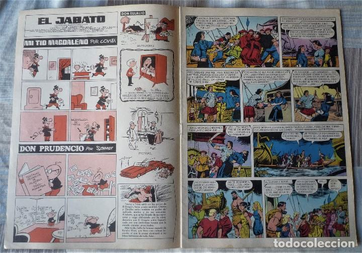 Tebeos: EL JABATO Nº 39 PRIMERA EPOCA. EN EXCELENTE ESTADO - Foto 3 - 197084578