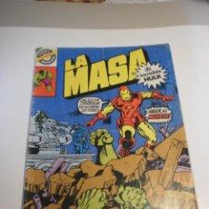 Tebeos: LA MASA. EL INCREÍBLE HULK Nº 22 COLOR 1982 COMICS BRUGUERA (BUEN ESTADO). Lote 197097212