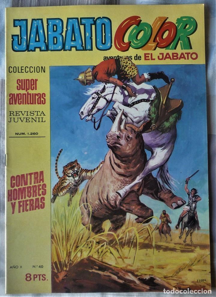 EL JABATO Nº 40 PRIMERA EPOCA. EN EXCELENTE ESTADO (Tebeos y Comics - Bruguera - Jabato)