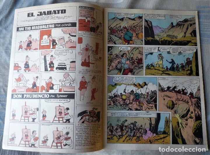 Tebeos: EL JABATO Nº 40 PRIMERA EPOCA. EN EXCELENTE ESTADO - Foto 3 - 197098716