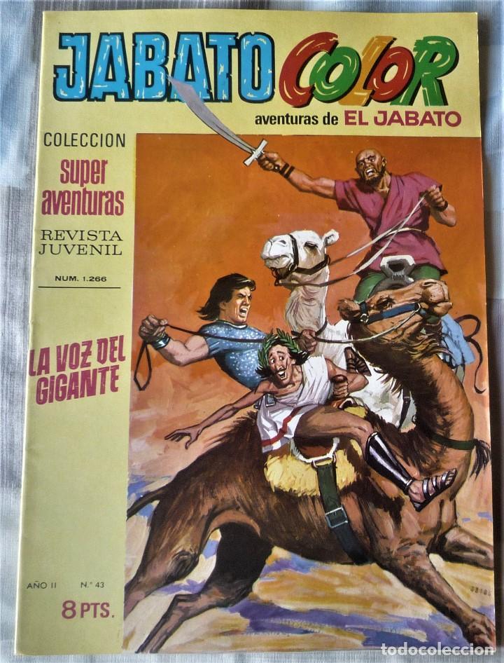 EL JABATO Nº 43 PRIMERA EPOCA. EN EXCELENTE ESTADO (Tebeos y Comics - Bruguera - Jabato)