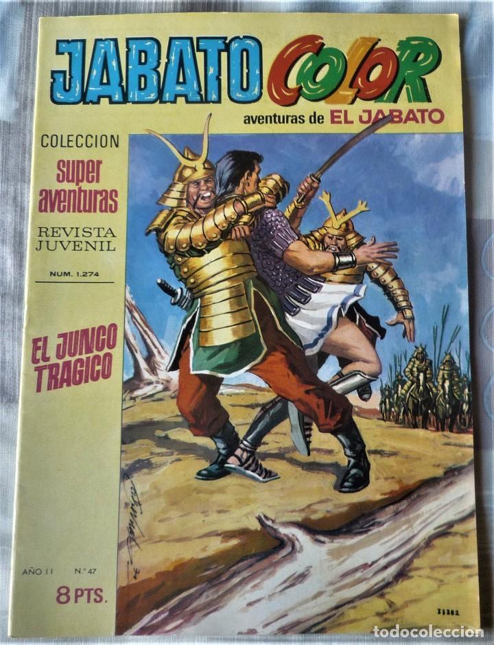 EL JABATO Nº 47 PRIMERA EPOCA. EN EXCELENTE ESTADO (Tebeos y Comics - Bruguera - Jabato)