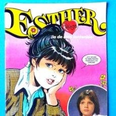Tebeos: ESTHER Nº 40 - BRUGUERA 1983 (CONTIENE POSTER LUIS MIGUEL) . Lote 197242745