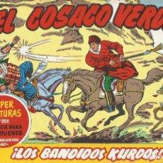 BDs: EL COSACO VERDE REEDICION Nº 1 AL 50 INCLUSIVE SUELTOS. Lote 197275251