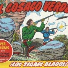 Tebeos: EL COSACO VERDE REEDICION Nº 101 AL 124 INCLUSIVE - SUELTOS PERFECTO ESTADO. Lote 197277156