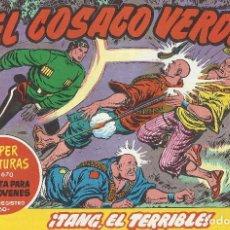 Tebeos: EL COSACO VERDE REEDICION Nº 131 AL 144 INCLUSIVE - SUELTOS PERFECTO ESTADO. Lote 197278632