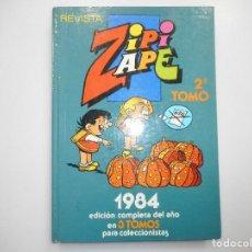 Tebeos: REVISTA ZIPI ZAPE 2ª TOMO 1984 Y99320W. Lote 197292947