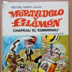 Tebeos: MORTADELO Y FILEMÓN. BRUGUERA 1971 Nº-7. Lote 197338631