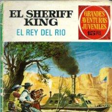 Tebeos: GRANDES AVENTURAS JUVENILES Nº 51 - EL SHERIFF KING - EL REY DEL RIO - BRUGUERA 1973 - DIFICIL. Lote 197361841