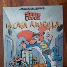 Tebeos: LOTE 16 MAGOS DEL HUMOR SUPERLOPEZ. SUPER LOPEZ. Lote 197573088