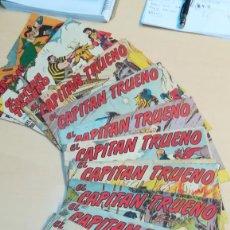Tebeos: EL CAPITAN TRUENO LOTE 10 TEBEOS ORIGINALES ED. BRUGUERA. Lote 197658217