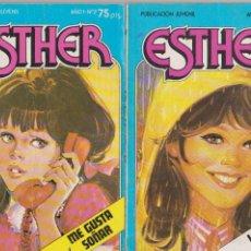 Tebeos: ESTHER Nº 7 Y 21. Lote 197906998