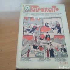 Tebeos: PULGARCITO Nº 57 (EDIT. EL GATO NEGRO) AÑO II 1922. Lote 197929595