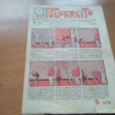 Tebeos: PULGARCITO Nº 17 (EDIT. EL GATO NEGRO) AÑO I 1921. Lote 197929938