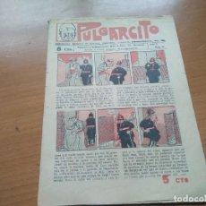 Tebeos: PULGARCITO Nº 35 (EDIT. EL GATO NEGRO) AÑO II 1922. Lote 197930040