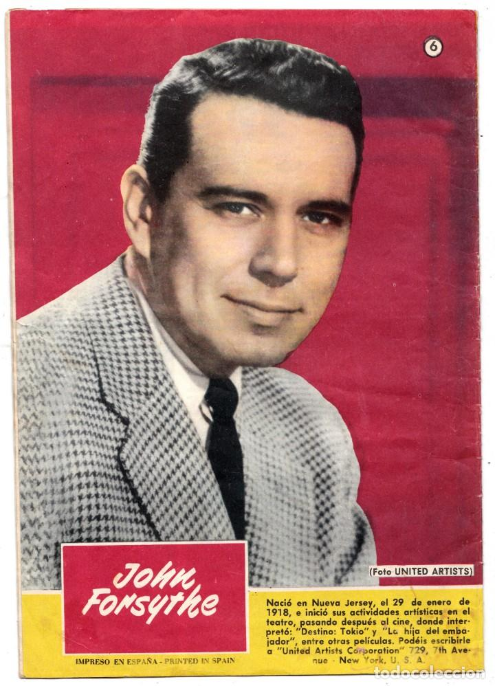 Tebeos: SISSI - Nº 6 - NOVELA GRÁFICAS - MI CORAZÓN LLORÓ POR TÍ - BRUGUERA - (1959). AL DORSO JOHN FORSYTHE - Foto 2 - 197996011