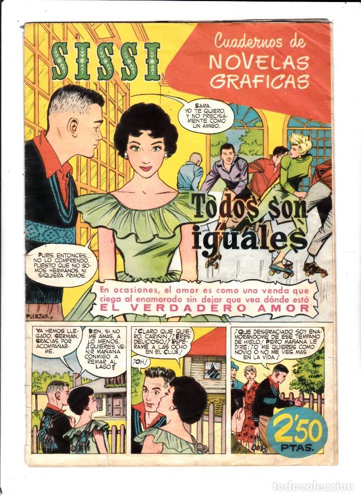 SISSI - Nº 26 - NOVELA GRÁFICAS - TODOS SON IGUALES - BRUGUERA - (1959). (Tebeos y Comics - Bruguera - Sissi)