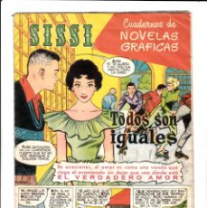 Tebeos: SISSI - Nº 26 - NOVELA GRÁFICAS - TODOS SON IGUALES - BRUGUERA - (1959).. Lote 198014472
